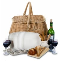 Bambeco Eco Picnic Basket for Four