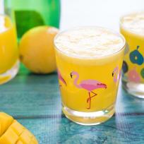 Sparkling Mango Lemonade Recipe