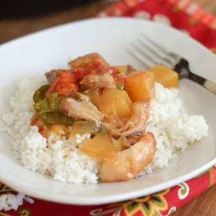 Gluten free slow cooker sweet and sour chicken photo