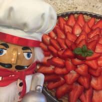 Strawberry Tart & Balsamic Glaze