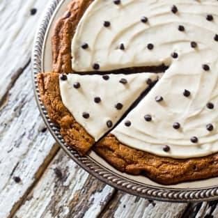 Paleo cookie pizza photo