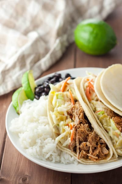 Gluten Free Pulled Pork Green Chile Slaw Picture