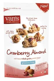 Van's Cranberry Almond Granola Review