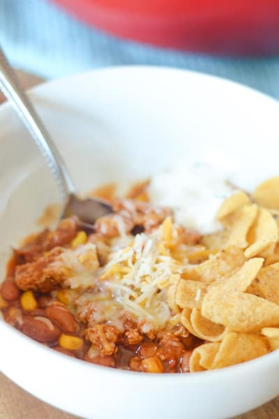 File 3 Gluten Free Turkey Chili with Corn