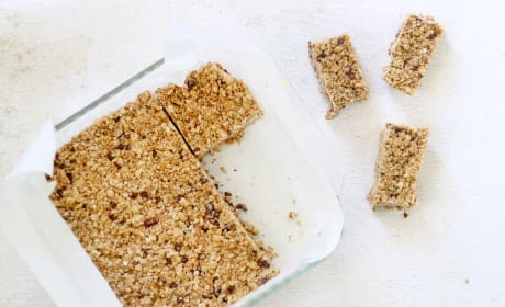 Homemade Chewy Granola Bars Photo