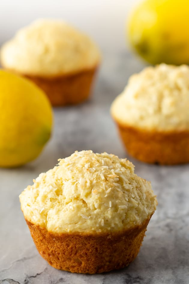 Lemon Coconut Muffins Image