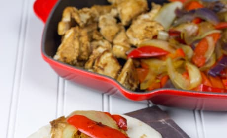 Homemade Chili's Chicken Fajitas Picture