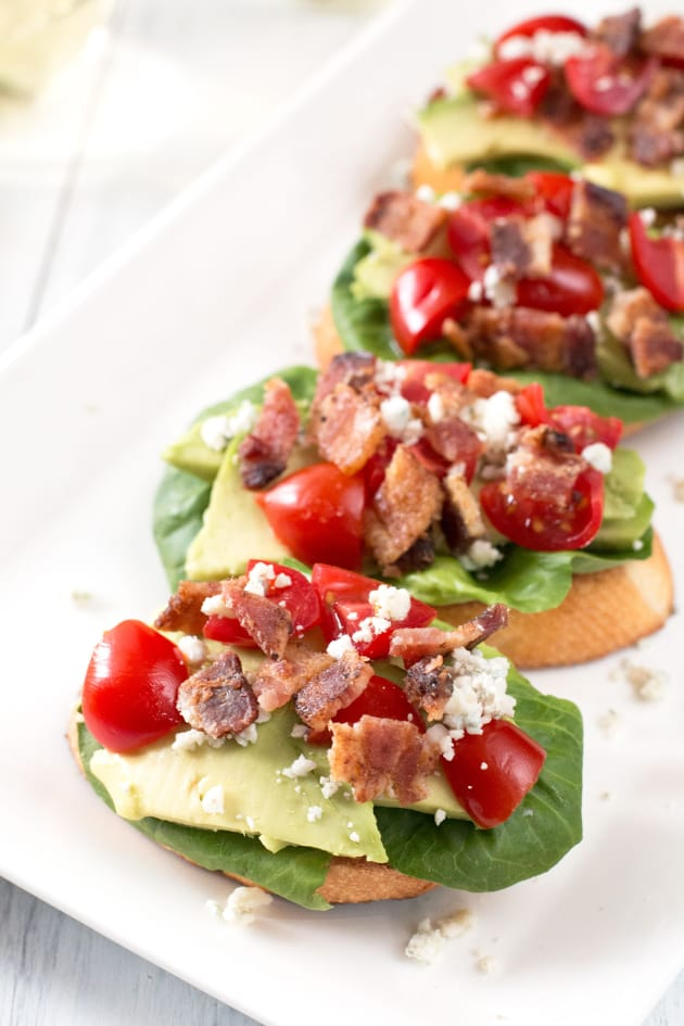 BLAT Blue Cheese Crostini Picture