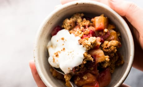 Healthy Cranberry Apple Crisp Recipe