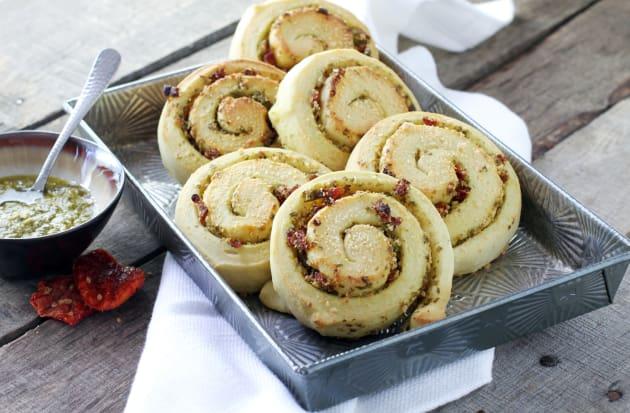 Parmesan Pesto Swirl Rolls Photo