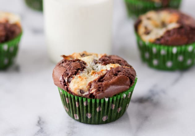 Cream Cheese Brownie Cupcakes Photo
