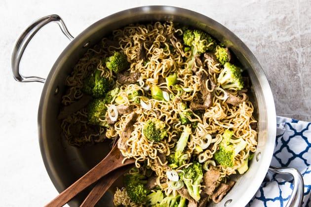 30 Minute Beef and Broccoli Ramen Photo