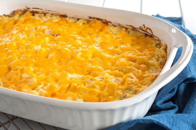 Cheesy Hashbrown Potato Casserole Photo