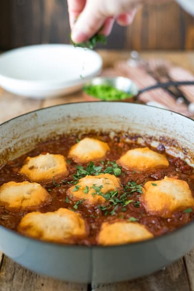 Mince and Dumplings Pic