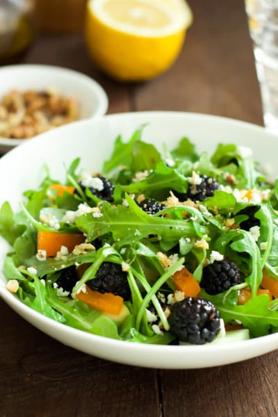 Arugula Blackberry Salad Image