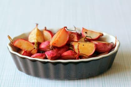 Roasted Radishes: Sweet Nutty Side Dish