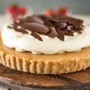 Banoffee pie photo