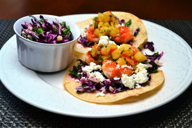 Shrimp Tostadas Photo