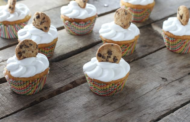 Cookie Dough Cupcakes Picture
