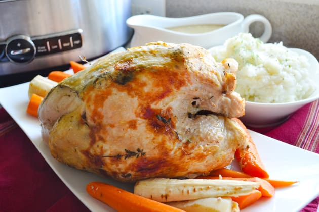 Slow Cooker Turkey Breast Image