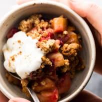 Healthy Cranberry Apple Crisp Recipe