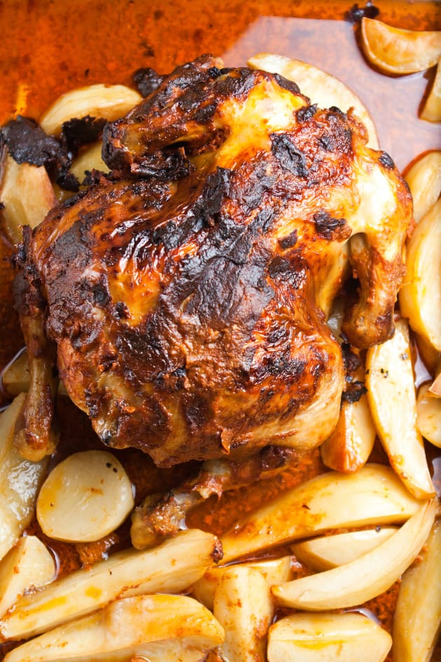 How To Bake A Whole Chicken - Food Fanatic-7140