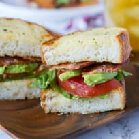 Garlic Bread BLT Recipe