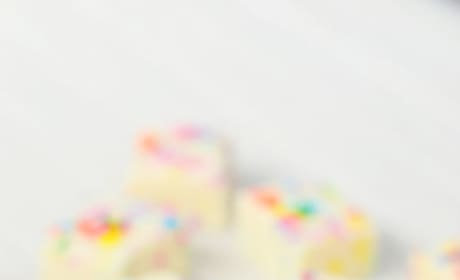 Gluten Free Cake Batter Fudge Picture