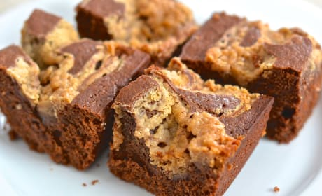 Peanut Butter Swirl Brownies Recipe