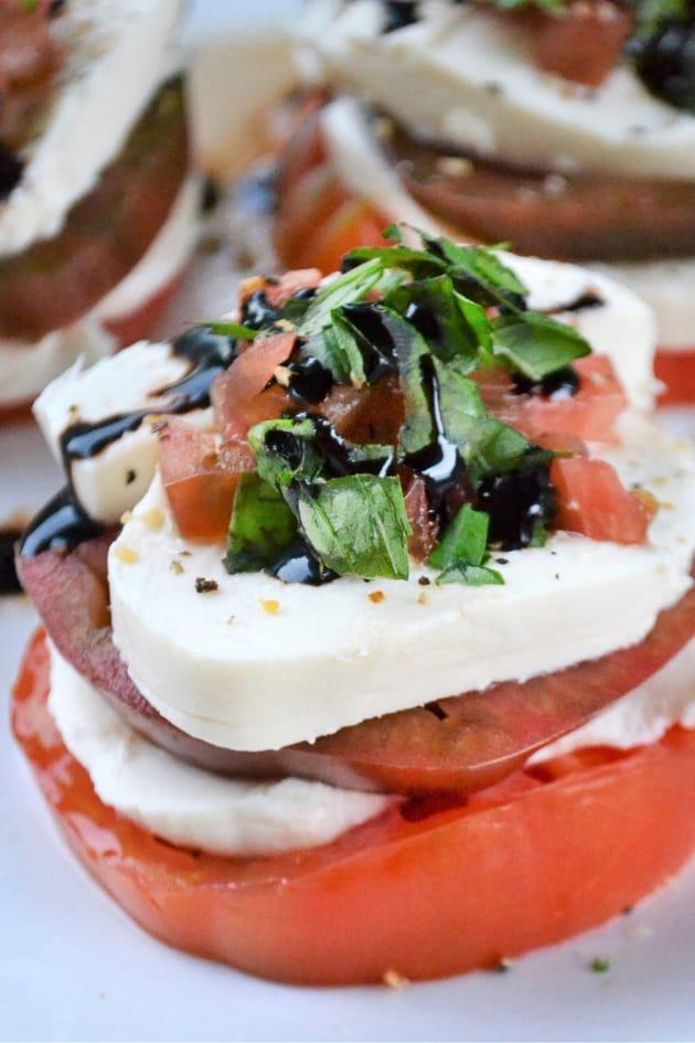 Caprese Tomato Stacks Image