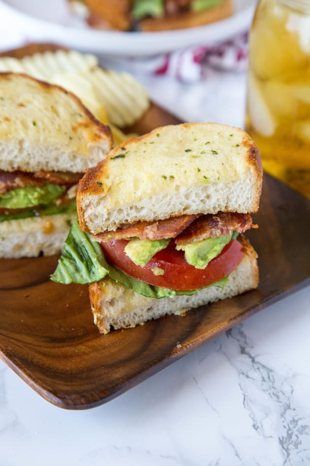 Garlic Bread BLT Image