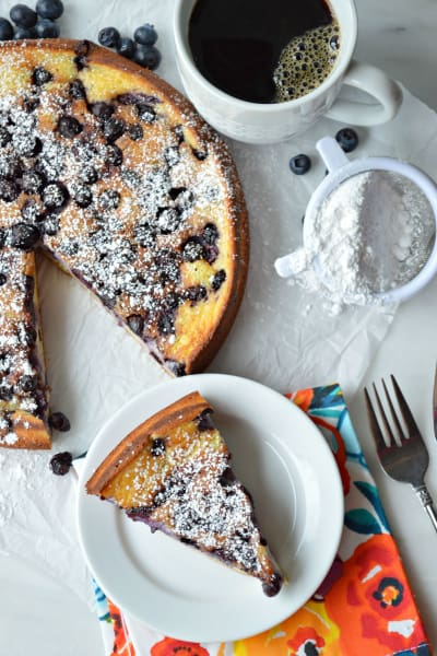Blueberry Breakfast Cake Pic