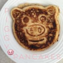Piggy Banana Pancakes Recipe