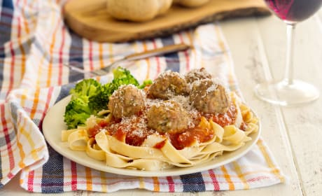 Gluten Free Baked Turkey Meatballs Photo