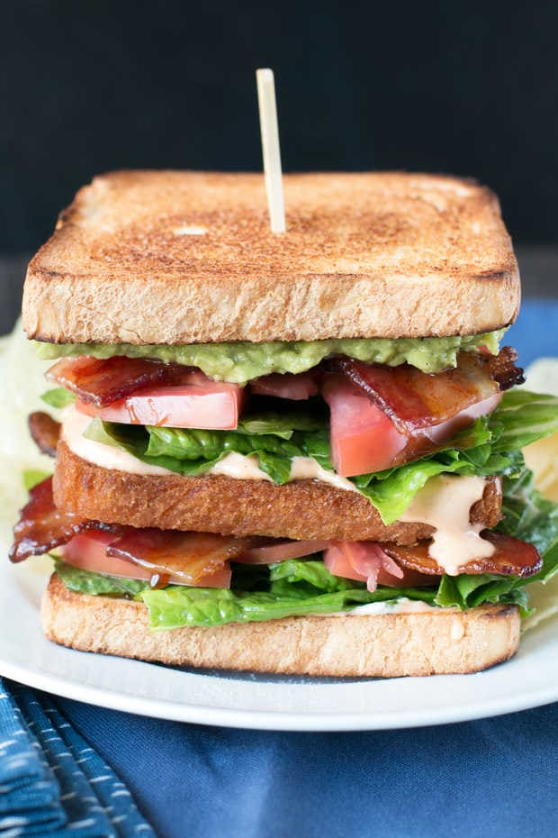 The Perfect BLAT with Spicy Candied Bacon Image