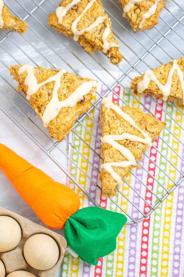 Carrot Cake Scones Image