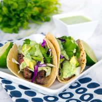 Skirt Steak Street Tacos Recipe