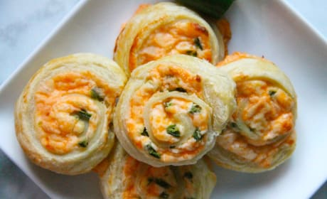 Puff Pastry Jalapeño Popper Pinwheels Photo