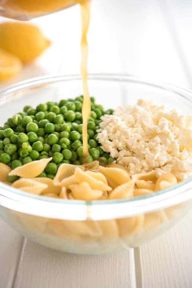 Lemon Pasta Salad Picture