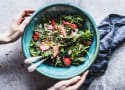 Strawberry Spinach Salad with Feta and Avocado