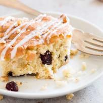 Cranberry Walnut Coffee Cake Recipe