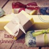 Easy Basic Beginner Soap