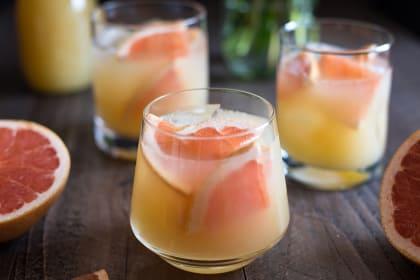 波旁葡萄柚鸡尾酒