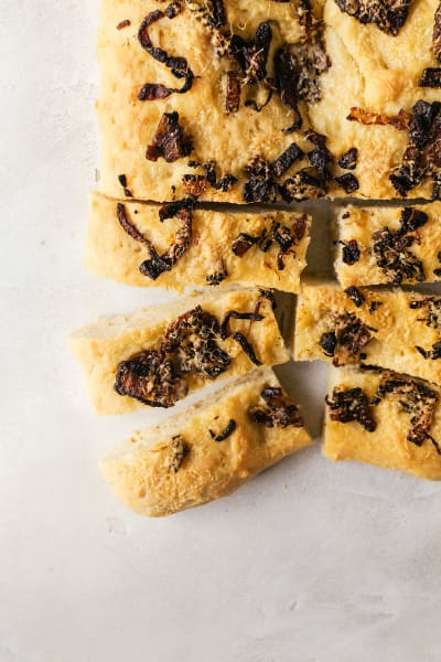 Caramelized Onion Focaccia Pic