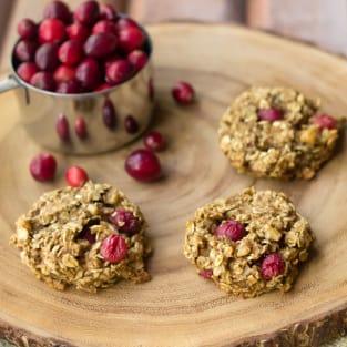 Cranberry breakfast cookies photo