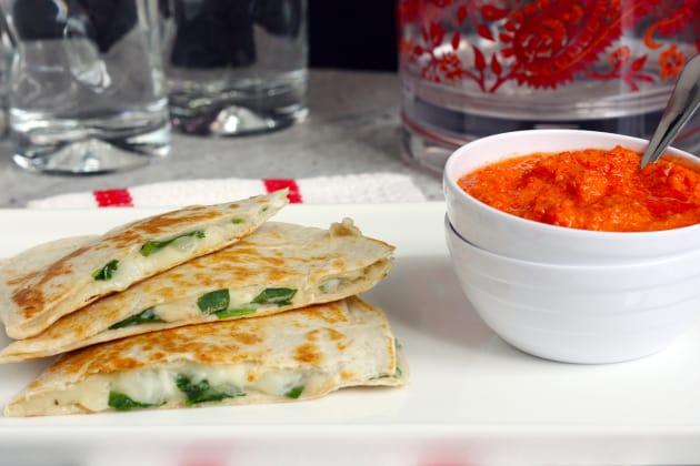 White Bean Quesadillas Picture