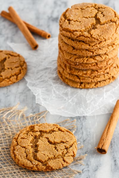 Soft and Chewy Ginger Cookies Pic