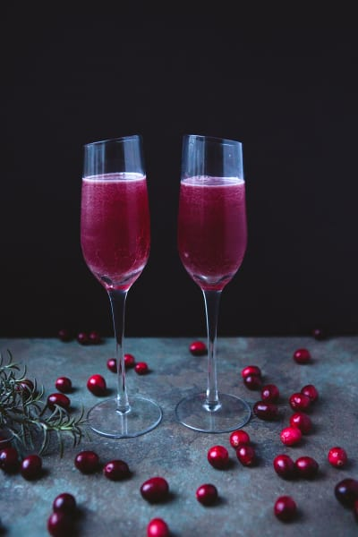 Cranberry Aquavit Cocktail Image