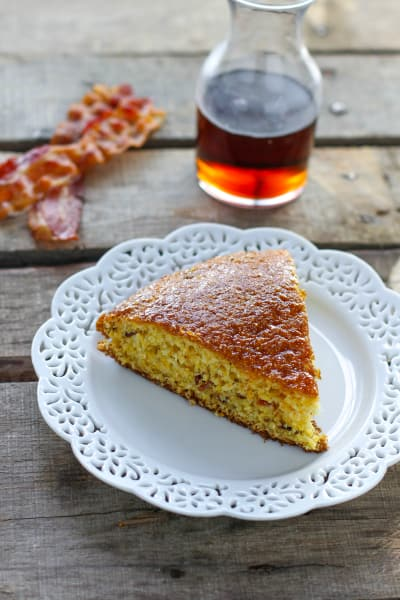 Maple Bacon Skillet Cornbread Picture