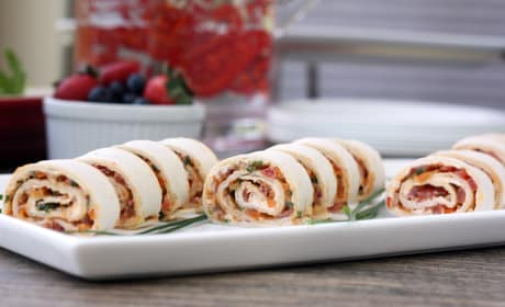 Spicy Tortilla Roll Ups Image